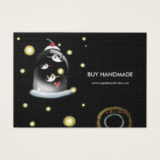 3 birds 2010 stamped custom business card design