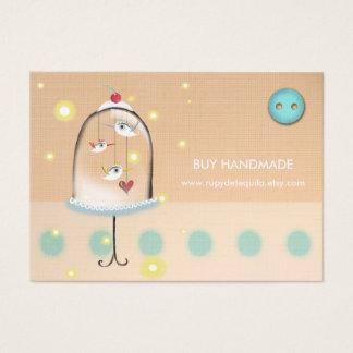 3 birds 2011 whimsical custom business card design