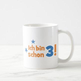 3 birthday coffee mug
