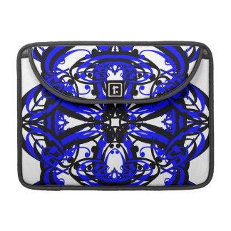 3 Blue Alternate Transparent MacBook Pro Sleeves