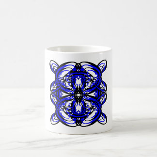 3 Blue Alternate Transparent Mug
