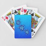 3 Blue Honu Turtles Card Decks