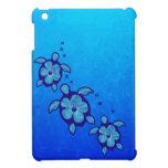 3 Blue Honu Turtles iPad Mini Cases