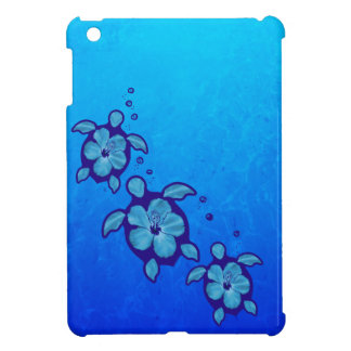 3 Blue Honu Turtles iPad Mini Cases
