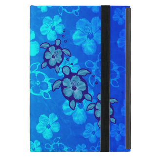 3 Blue Honu Turtles iPad Mini Cover