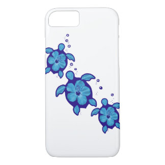 3 Blue Honu Turtles iPhone 7 Case