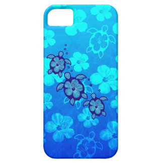 3 Blue Honu Turtles iPhone SE/5/5s Case
