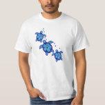 3 Blue Honu Turtles Shirt