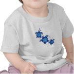 3 Blue Honu Turtles T-shirts