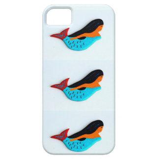3 blue mermaids phone case