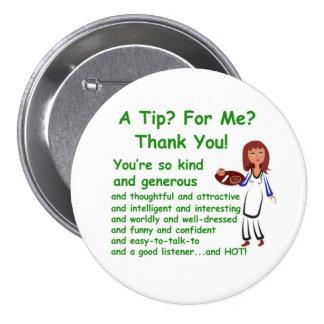 """3"""" botón con una extremidad para mí diseño pin"""