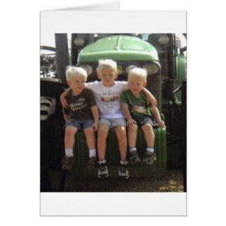 3 BOYS CARD