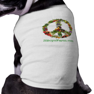 3 Boys Farm MED dog s Tshirt Pet Clothes