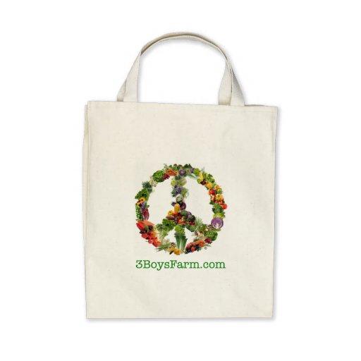 3 Boys Farm Organic cotton tote bag