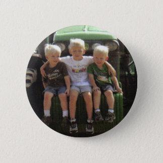 3 BOYS PINBACK BUTTON