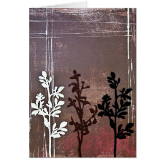 3 branches card