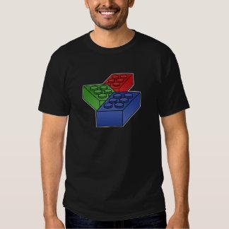 3 Building Blocks - vector pop art Shirt