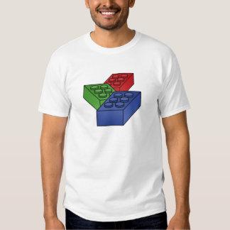 3 Building Blocks - vector pop art T Shirt