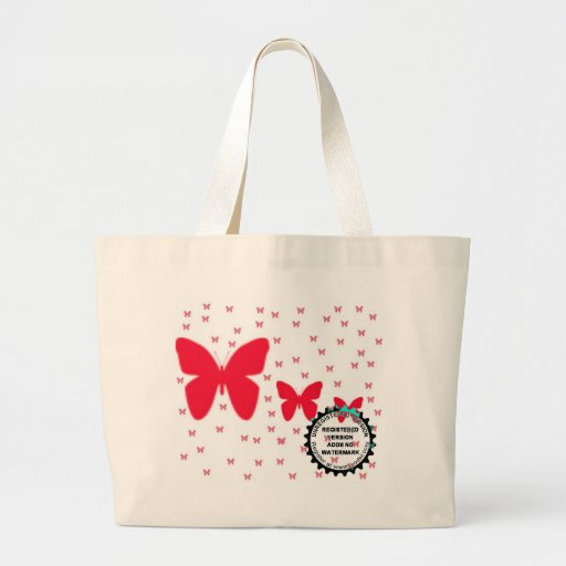 3 butt large tote bag