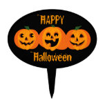 3 calabazas de Halloween Figuras Para Tartas