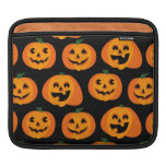 3 calabazas de Halloween Fundas Para iPads