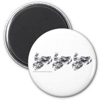 3-Camo-Grey-Sledder Magnet