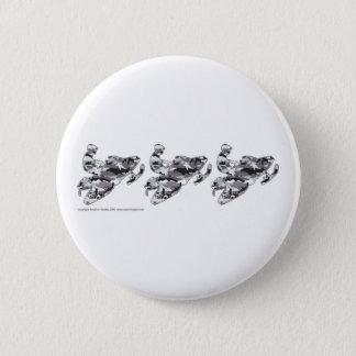 3-Camo-Grey-Sledder Pinback Button