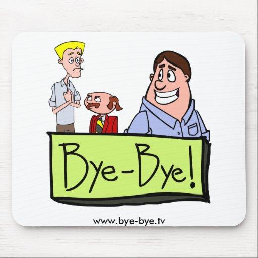 ¡3 caracteres - adiós! alfombrilla de raton