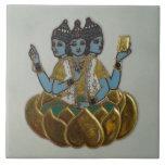 3 caras Shiva Azulejos Ceramicos