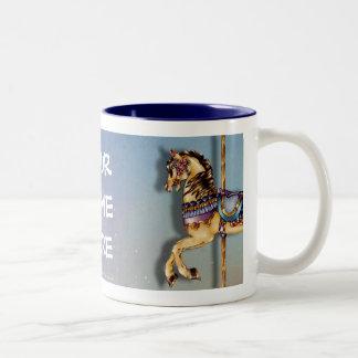3 Carousel Horses Mug