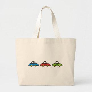 3 cars tote bag