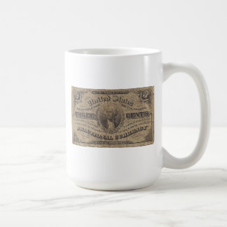 3-Cent Fractional Currency Coffee Mug