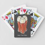 3 cervezas (personalizable) cartas de juego