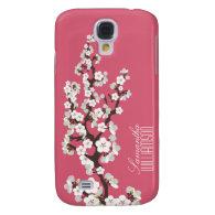 3 Cherry Blossom (rose pink) Samsung Galaxy S4 Case