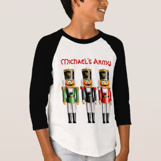3 Christmas Nutcracker Toy Soldiers T-Shirt