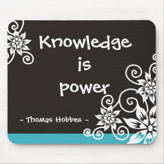 3 citas famosas de la palabra - cita de Thomas Hob Alfombrilla De Raton