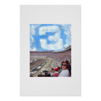 3 cloud tribute to Dale Poster