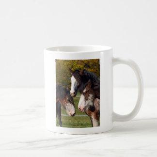 3 Clydesdale heads Coffee Mug