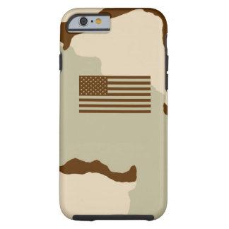 3 color desert/subdued flag tough iPhone 6 case