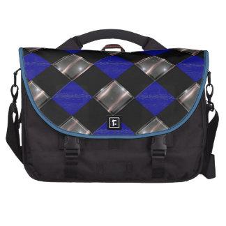 3 color diamond laptop commuter bag