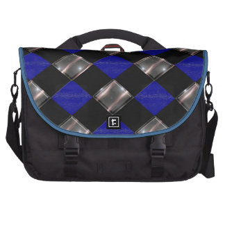 3 color diamond laptop commuter bag