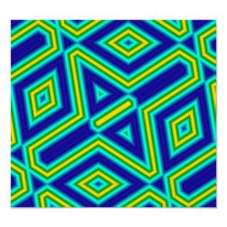 3 color line pattern art photo