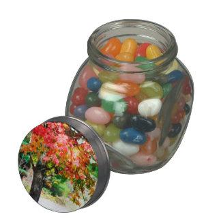 3 colores de la naturaleza 2 jarras de cristal