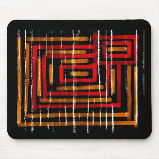 3 : : Colorful Abstract Art Mouse Pad