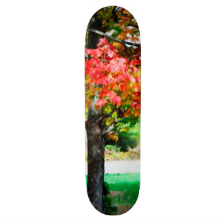 3 colors of the nature 2 skateboard