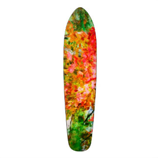 3 colors of the nature 4 skateboard