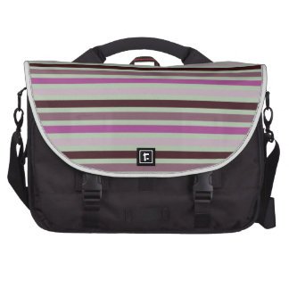 3 colors striped pattern bag for laptop