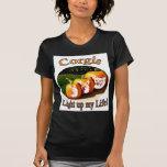 3 Corgis Light up my Life T Shirt