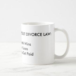 3 COSAS A SABER SOBRE LEY DEL DIVORCIO: 1. La Taza