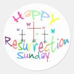3 Crosses of Resurrection stickers